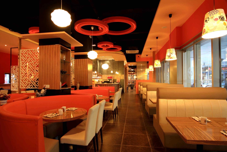 特色餐厅装修图片; 主题餐饮空间效果图图片分享;
