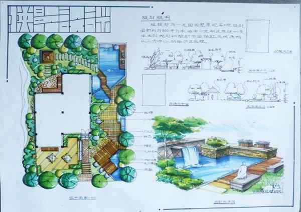 园林景观快题设计