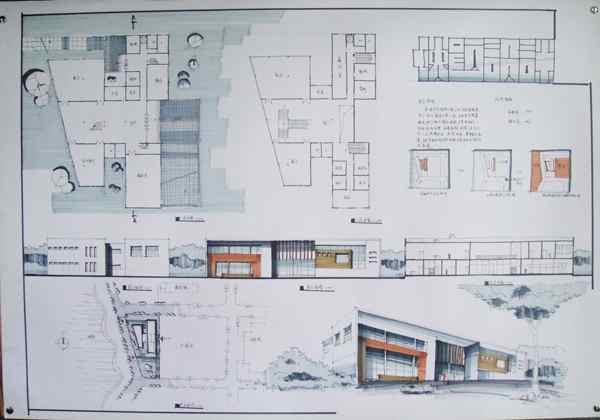 2013年南京室内设计学会手绘