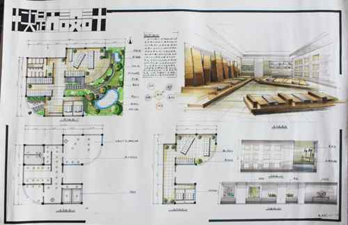 2015年南京市室内设计学会手绘培训优秀作品选登
